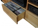 EU 97 - All our Entertainment Units can be customized in size to suit your individual room. They can be made with a variety of solid timbers including Tasmanian Blackwood, Blue Gum, Tasmanian Oak, Jarrah, Blackbutt and many more. Give us a call with your requirements for an obligation free quote.
