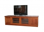 EU 86 - All our Entertainment Units can be customized in size to suit your individual room. They can be made with a variety of solid timbers including Tasmanian Blackwood, Blue Gum, Tasmanian Oak, Jarrah, Blackbutt and many more. Give us a call with your requirements for an obligation free quote.