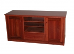 EU 76 - All our Entertainment Units can be customized in size to suit your individual room. They can be made with a variety of solid timbers including Tasmanian Blackwood, Blue Gum, Tasmanian Oak, Jarrah, Blackbutt and many more. Give us a call with your requirements for an obligation free quote.