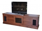 EU 99 - All our Entertainment Units can be customized in size to suit your individual room. They can be made with a variety of solid timbers including Tasmanian Blackwood, Blue Gum, Tasmanian Oak, Jarrah, Blackbutt and many more. Give us a call with your requirements for an obligation free quote.