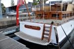Silver Cloud finished and in the water about 3 weeks before departure to Brisbane Waters.
