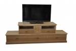 EU 113 - All our Entertainment Units can be customized in size to suit your individual room. They can be made with a variety of solid timbers including Tasmanian Blackwood, Blue Gum, Tasmanian Oak, Jarrah, Blackbutt and many more. Give us a call with your requirements for an obligation free quote.