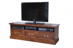 EU 149 in Recycled Oregon(stained dark) - 1500(w) x 500(h) x 450(d) - All our Entertainment Units can be customized in size to suit your individual room. They can be made with a variety of solid timbers including Tasmanian Blackwood, Blue Gum, Tasmanian Oak, Jarrah, Blackbutt and many more. Give us a call with your requirements for an obligation free quote.